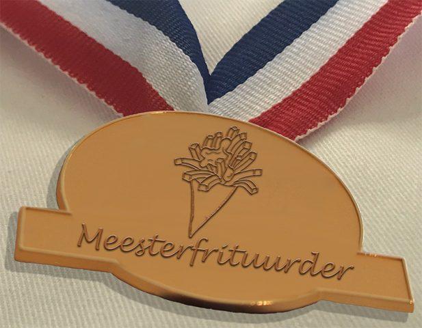 ProFri_en_Nederlands_Frituurcentrum_-_Specimen Medaille Meesterfrituurder